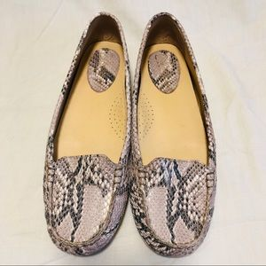 Cole Haan Nike Air Snake Leather Loafers  Sz. 8.5